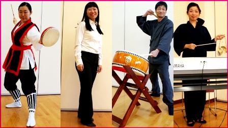 楽器と舞台衣装