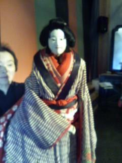 文楽人形「お雪」