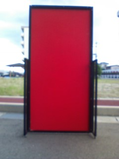 完成したドアパネル