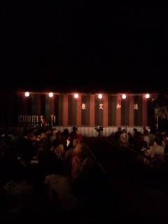 清和文楽農村舞台